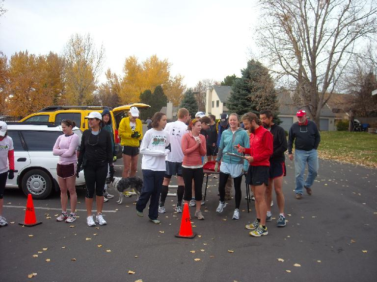 Forty-four runners attended -- a new record for the Tortoise & Hare Series.
