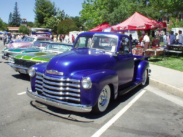 Cool Chevy pickup.