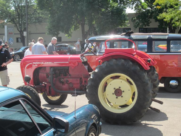 A Porsche tractor.
