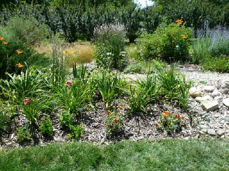 I loved the Morgan's perennial garden!  This will be the inspiration for my own...