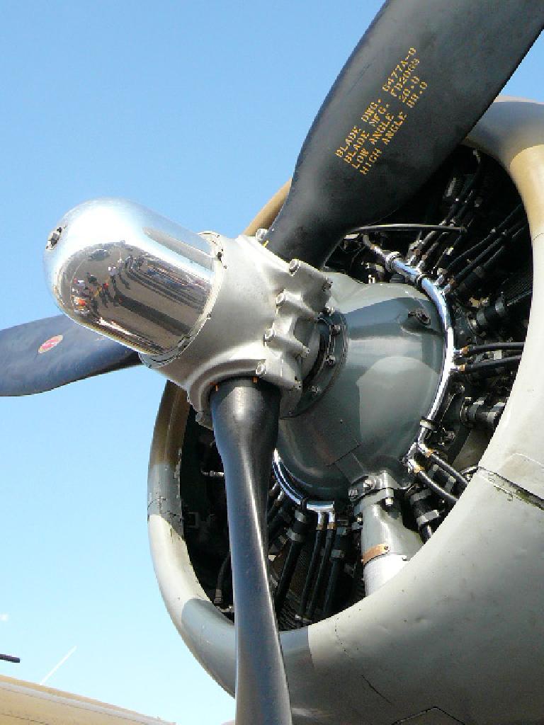 Huge propeller.
