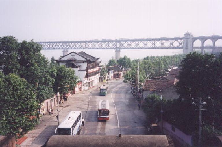 The view of Wuhan along the Yangtze coast, near where we would board our Victoria 1 cruise ship.