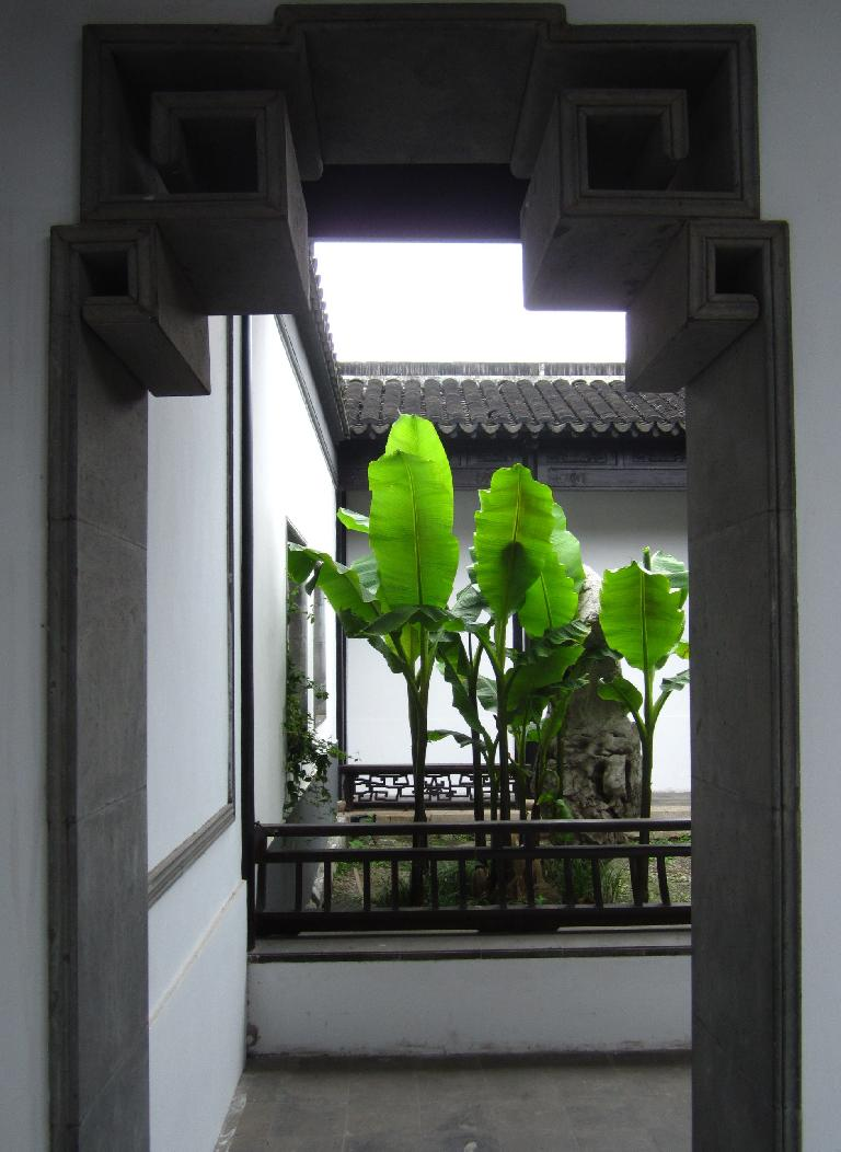 Doorway at Xue Family Garden.