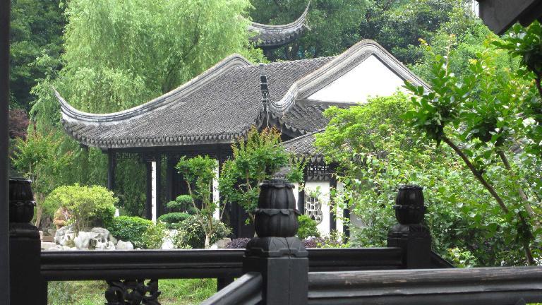 Building at Xue Family Garden.