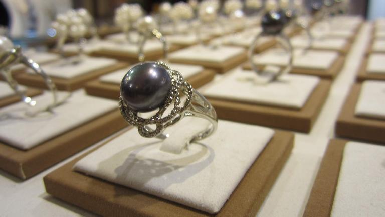 Pearl ring. (May 19, 2014)