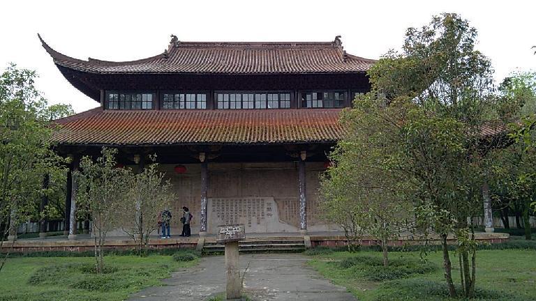 Temple near Mount Wuyi. (April 18, 2016)
