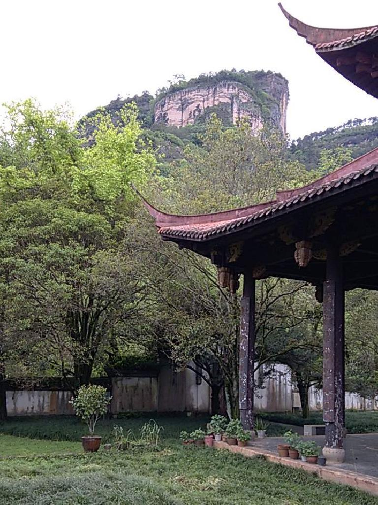 What I think is Mount Wuyi. (April 18, 2016)