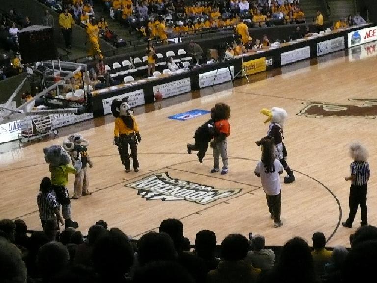 More mascots...
