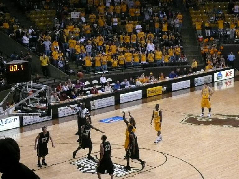 Wyoming won the game, beating the University of Colorado (Boulder).