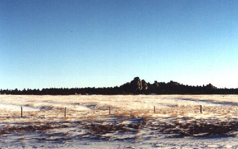 More rock formations in Wyoming. (January 31, 2000)