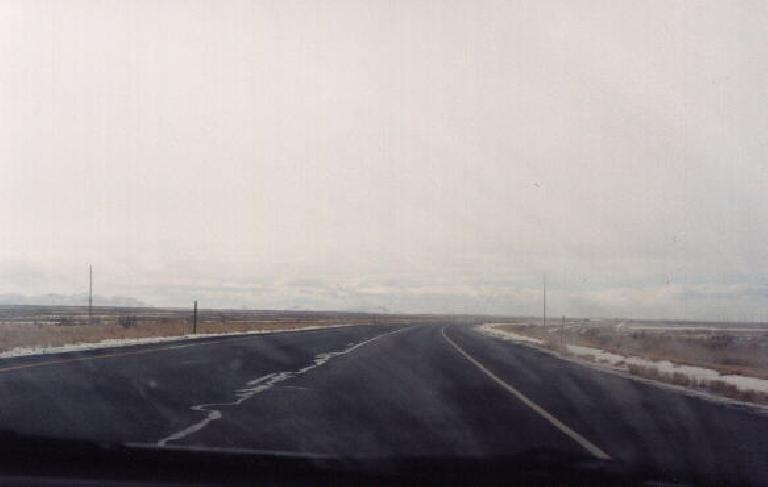 The open road in Utah. (January 31, 2000)