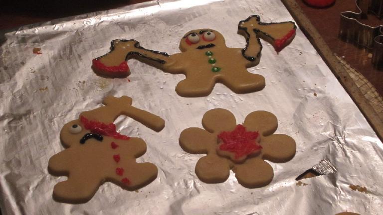 Ax-wielding cookies.