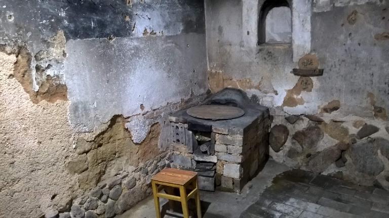 A room inside a Yongding Hakka Tulou.