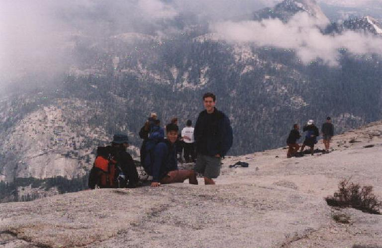 Woohoo! The summit long at last!